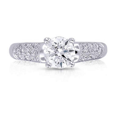 1.31 ct. t.w. Round Diamond Ring (E, SI2)