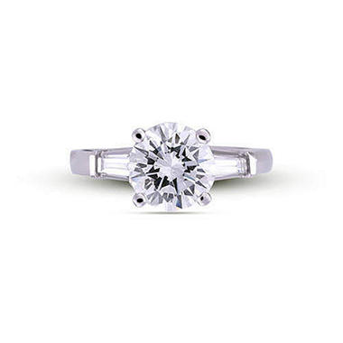 1.22 ct. t.w. Premier Diamond Collection Round and Baguette Diamond Ring (G, SI1)