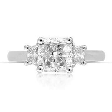 2.36 ct. t.w. Radiant-Cut Diamond Ring (H, SI1)