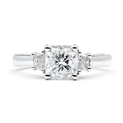 2.39 ct. t.w. Radiant-Cut Diamond Ring (I, SI1)