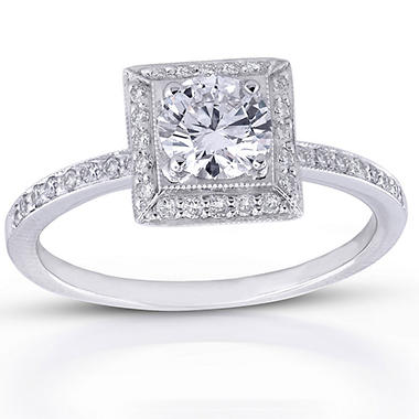 .68 ct. t.w. Round Diamond Ring (G, VS1)