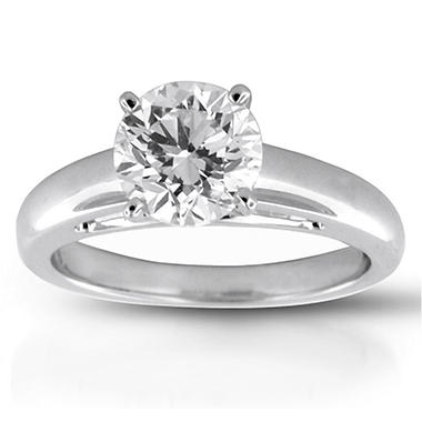 2.02 ct. Round Diamond Solitaire Ring (I, VS2)