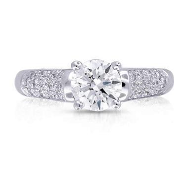 1.29 ct. t.w. Round Diamond Ring (G, SI2)