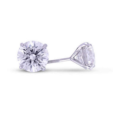 4.09 ct. t.w. Diamond Ear Studs (I, SI1-SI2)