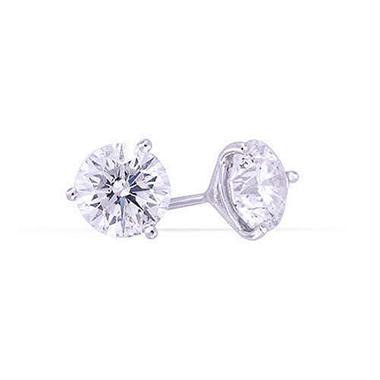 4.05 ct. t.w. Diamond Ear Studs (D-F, SI1-SI2)