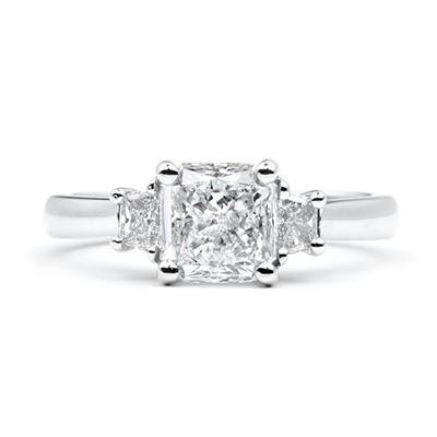 1.86 ct. t.w. Radiant-Cut Diamond Ring (G-H, SI1-2)