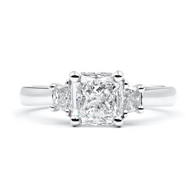 1.86 ct. t.w. Radiant-Cut Diamond Ring (G-H, SI1-2)