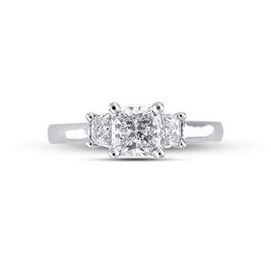 1.31 ct.t.w. Radiant-Cut Diamond Ring (G-H, SI1-SI2)