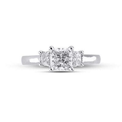 1.31 ct.t.w. Radiant-Cut Diamond Ring (G-H, SI1-SI2)