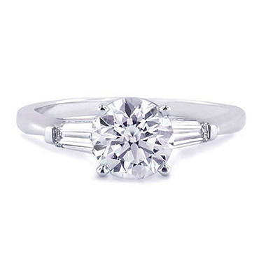 1.21 ct. t.w. Diamond Ring with Baguettes (F, SI2)