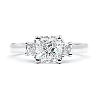 1.87 ct. t.w. Radiant-Cut Diamond Ring (G, SI2)