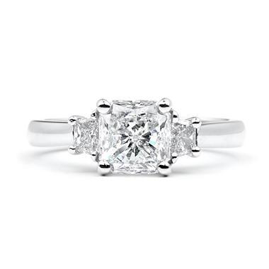 1.87 ct. t.w. Radiant-Cut Diamond Ring (G, SI2)