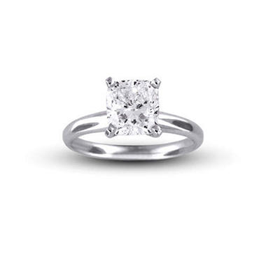 2.19 ct. Radiant Diamond Ring (E,SI2)