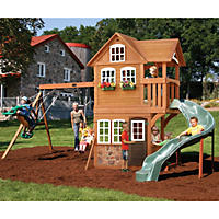 Summerstone Cedar Summit Playset