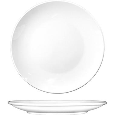 "Coupe Plates - 12"" - White - 12 ct."