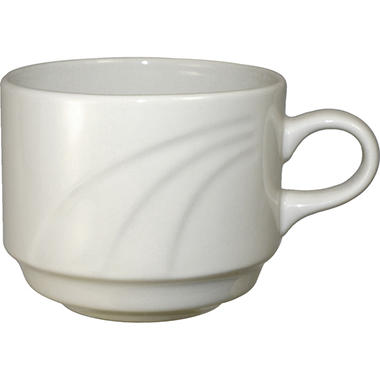 York Stackable Cups - 8.5 oz. - Off White - 36 ct.