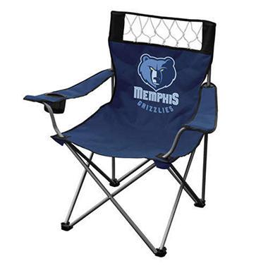 Folding Chair - Grizzlies - Dark Blue