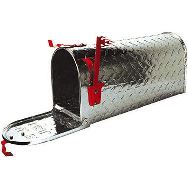 Diamond Plate Mailbox