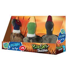 Happy Tails Birdie Buddies Plush Pet Toys (3 pk.)