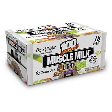 Muscle Milk Light Shakes - 18/8.25oz