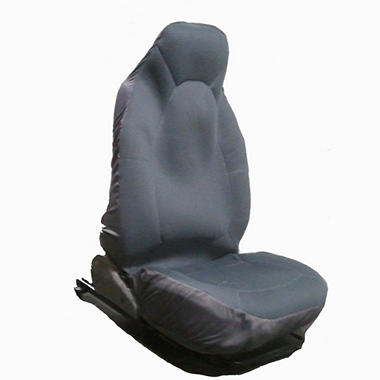 Heated Car Seat Cover - Black or Gray