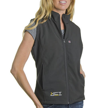 Women's Heated Soft Shell Vest - Available Sizes XS - XL