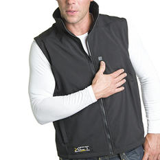 Men's Heated Soft Shell Vest - Varied Sizes S - 2XL