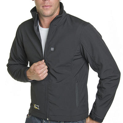 Men's Heated Soft Shell Jacket - Various Sizes Available