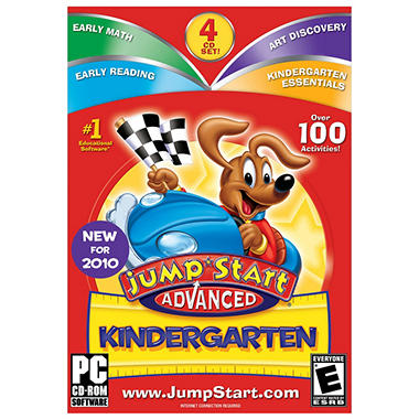 JumpStart Advanced Kindergarten V3 - PC