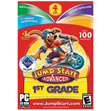 JumpStart Advanced 1st Grade 3.0 - PC