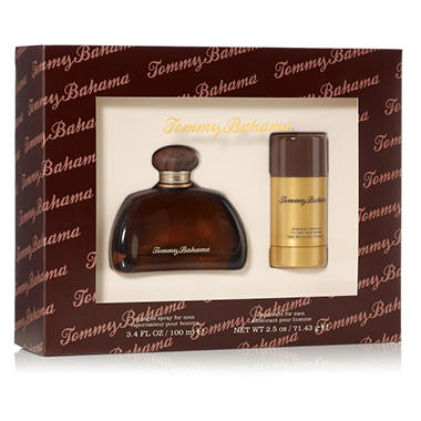 Relish the adventure with this Tommy Bahama cologne gift set. FRAGRANCE NOTES. Cognac (For Him): ginger, watermelon, tangerine, pear, tiare flower, violet leaf, coriander, amber, tonka bean and Australian sandalwood.