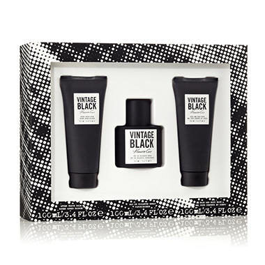 Kenneth Cole Vintage Black 3 Piece Gift Set