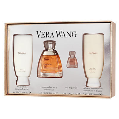Vera Wang Classic Ladies 4 pc. Gift Set