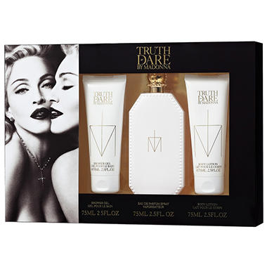 Madonna Truth or Dare Fragrance Gift Set 3 pc. For Her