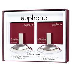 Calvin Klein Euphoria Ladies Gift Set (1.0 oz., 2 pk.)