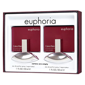 Calvin Klein Euphoria Ladies Gift Set (1.0 oz., 2 pk.)