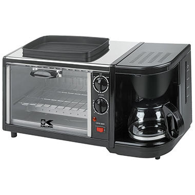 Kalorik Toaster Oven/Coffee Maker/Griddle