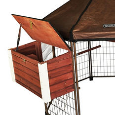 Adavantek Original Pet Gazebo Double Nesting Box