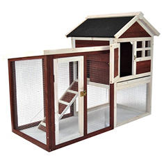"Advantek Rabbit Hutch, Stilt House (48"" x 25"" x 36"")"