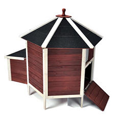 "Advantek Poultry Hutch, Tower (42"" x 42"" x 47"")"