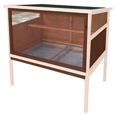 "Advantek Poultry Hutch, Urban Coop (41"" x 28"" x 36"")"