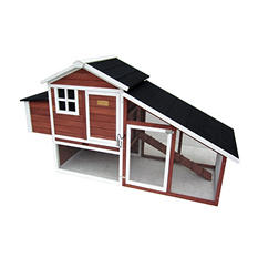 "Advantek Poultry Hutch, Farm House (80"" x 31"" x 46"")"