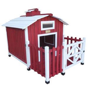 "Advantek Dog House, Country Barn (56"" x 38"" x 39"")"