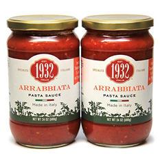Menu 1932 Arrabbiata Pasta Sauce (2 pk., 24 oz.)