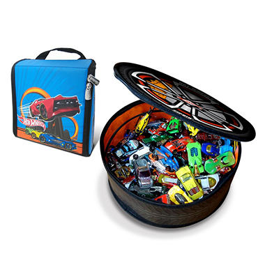 Neat-oh! Hot Wheels ZipBin Wheelie w/Car & Hot Wheels Ramp Race Bundle