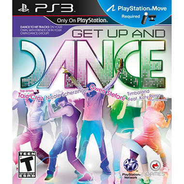 Get Up and Dance - PS3 Move