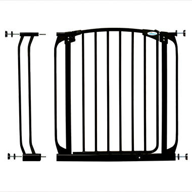 Dream Baby Swing Closed Security Gate Combo - Black