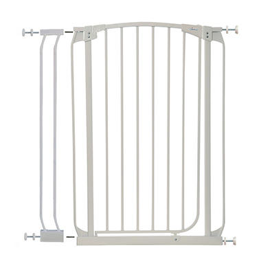 Dream Baby Extra Tall Swing Closed Security Gate Combo - White