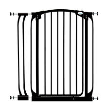 Dreambaby Chelsea Tall Auto Close Security Gate Combo, Black