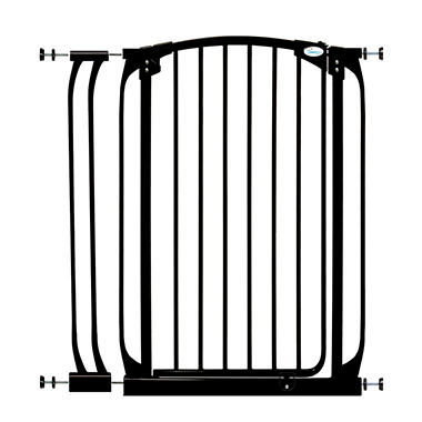 Dream Baby Extra Tall Swing Closed Security Gate Combo - Black